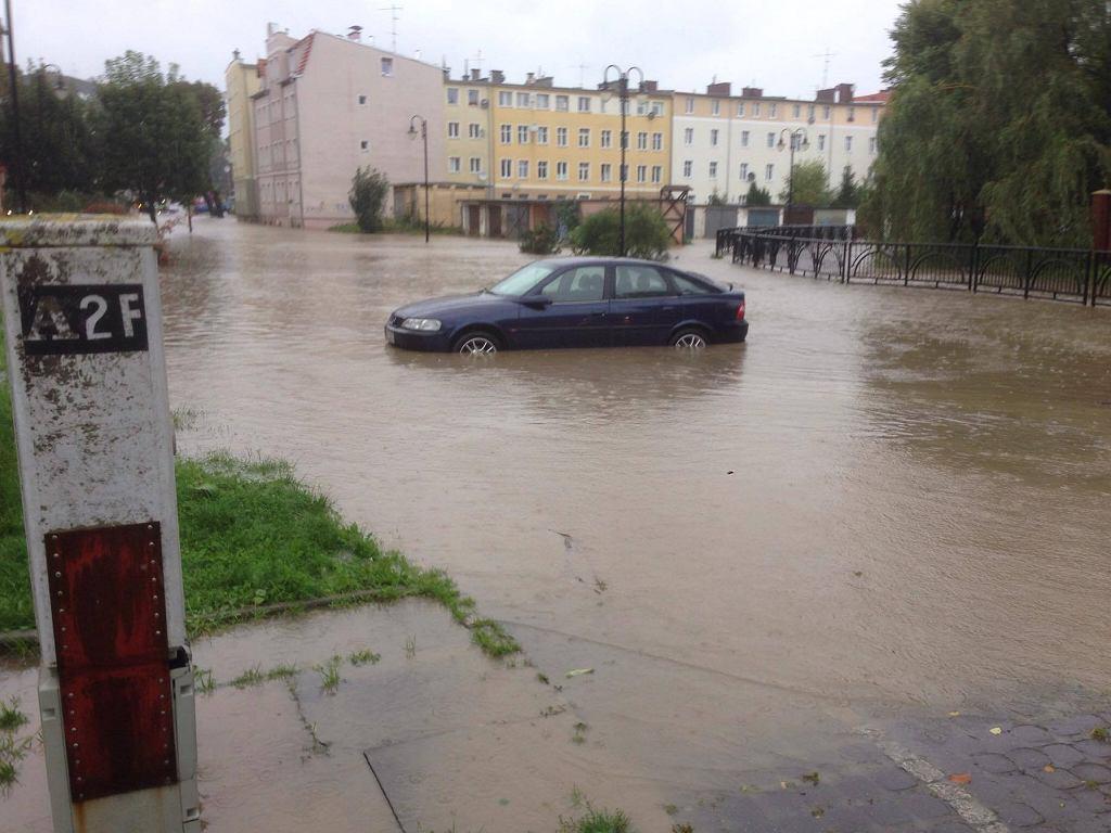 W Elblągu ogłoszono alarm przeciwpowodziowy