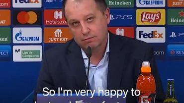 Jurij Wernydub, trener Sheriffa Tiraspol