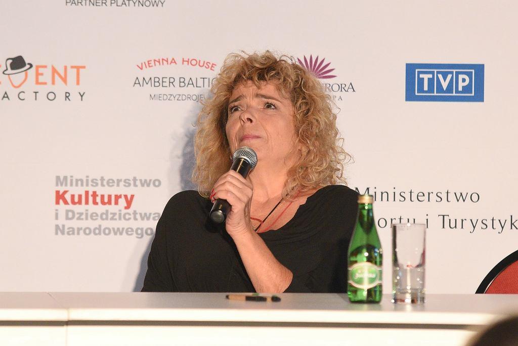 Katarzyna Grochola opowiedziała o przemocy domowej