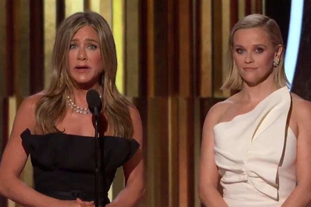 Jennifer Aniston odczytała przemowę Russella Crowe'a