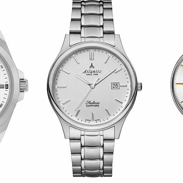 5 zegarkowych propozycji LOGO: srebrne zegarki