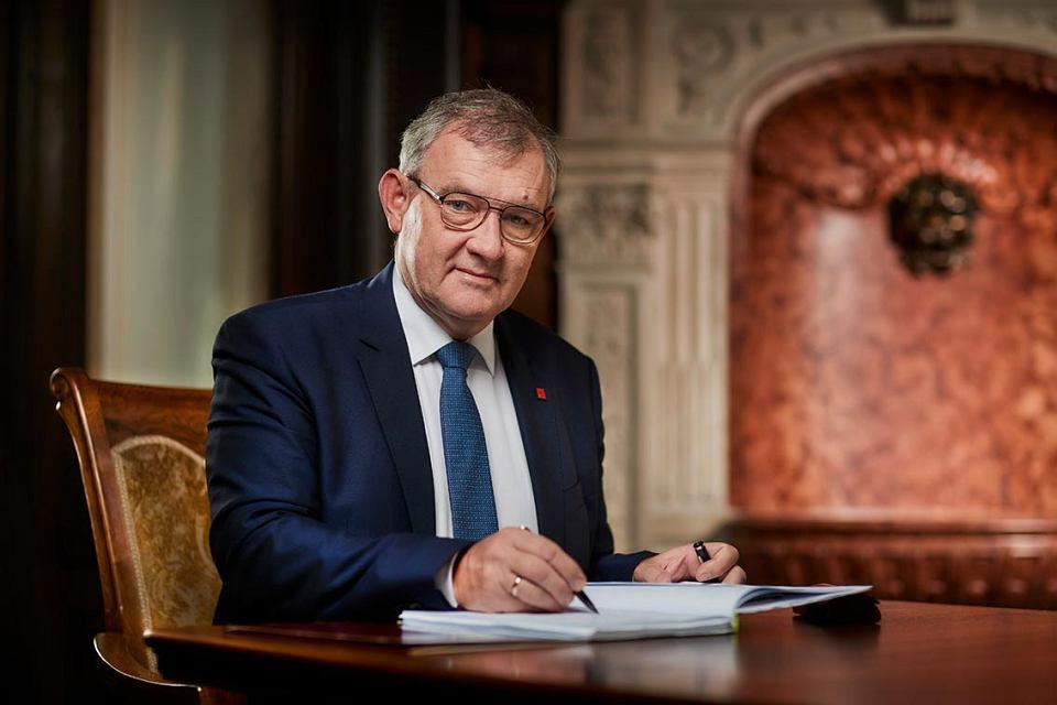 Rektor Politechniki Łódzkiej, prof. Krzysztof Jóźwik