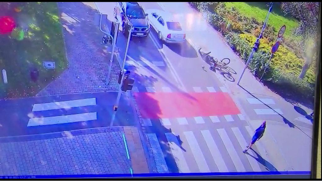 Lubin. Kierowca potrącił 74-letniego rowerzystę