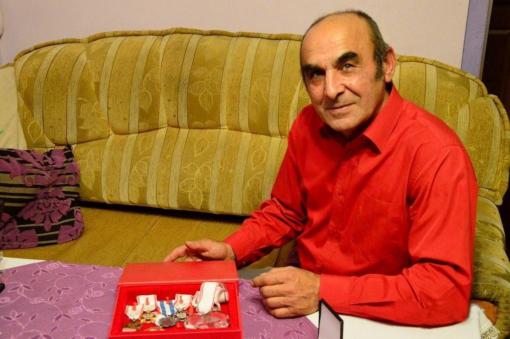 Andrzej Lis, rekordzista Polski w oddawaniu krwi