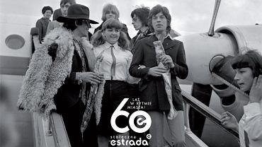 Rolling Stonesi w Warszawie na okolicznościowe pocztówce z okazji 60-lecia Stołecznej Estrady