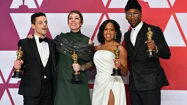Oscary 2019: Olivia Colman, Rami Malek, Regina King, Mahershala Ali