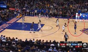 Geniusz Stephena Curry'ego! Show w NBA. Pozamiatał już w pierwszej kwarcie [WIDEO]