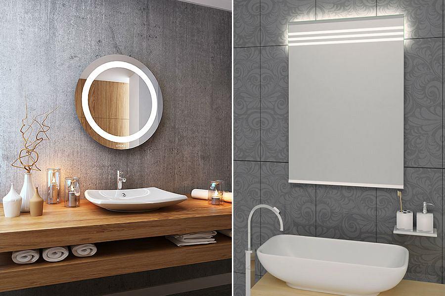 HIT: lustro do łazienki z oświetleniem LED