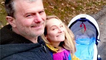 Marek Walczak z rodziną
