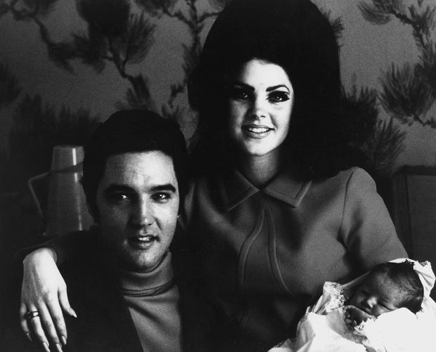 Elvis Presley and Priscilla  Ref: B196_095082_2074 Date: 26.10.2001 Compulsory Credit: STARSTOCK/Photoshot
