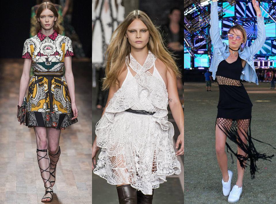 Styl boho w światowej modzie zapoczątkowali najwięksi projektanci np. Givenchy i Valentino