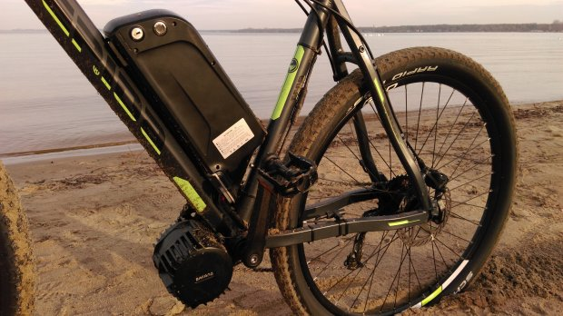 bateria i silnik czyli serce E-bike'a