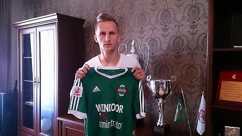 piłka nożna, Mateusz Stąporski piłkarzem Radomiaka Radom