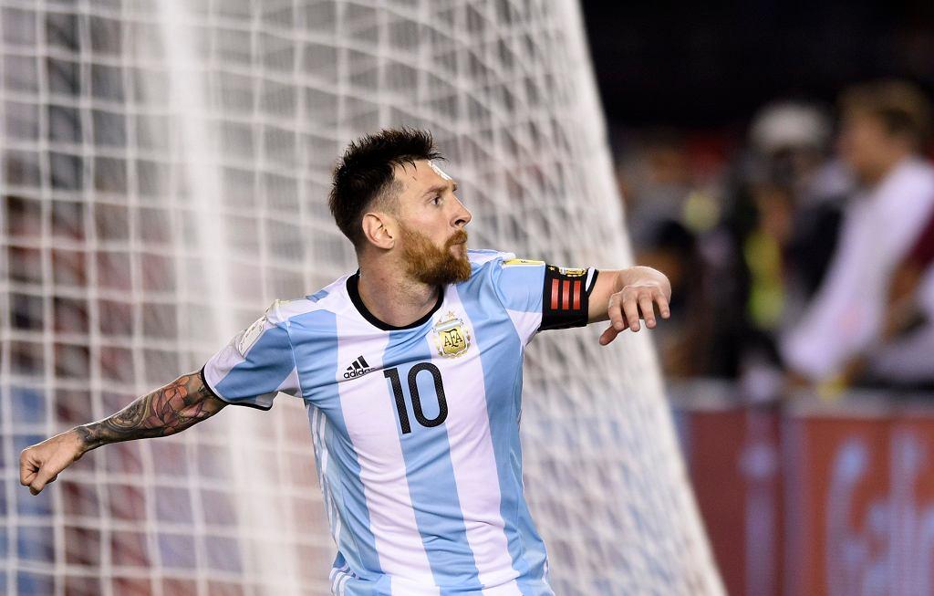 Argentyna - Chile, Leo Messi