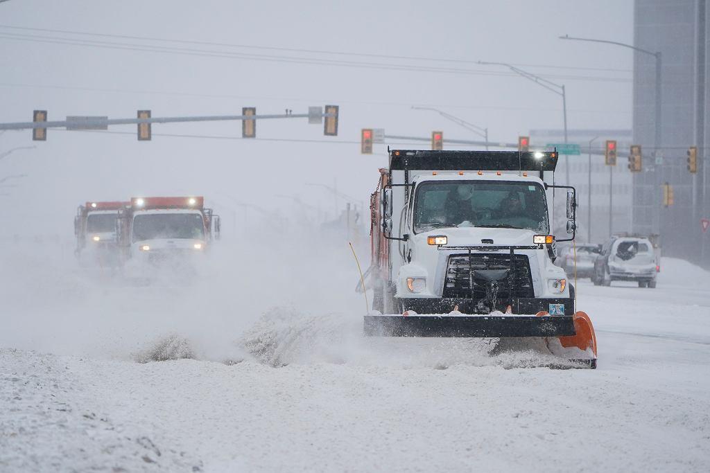 Atak zimy w Oklahomie