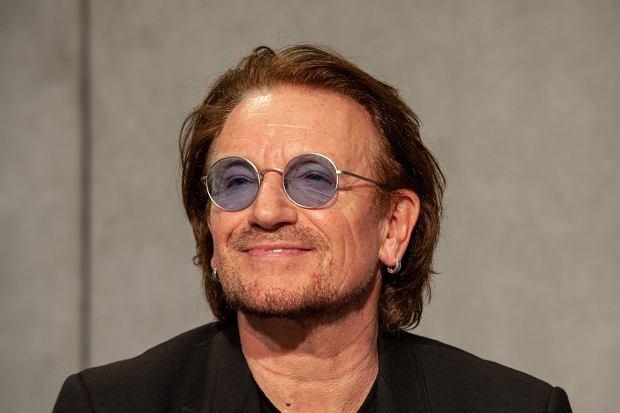 $Konferencja prasowa Bono w Watykanie