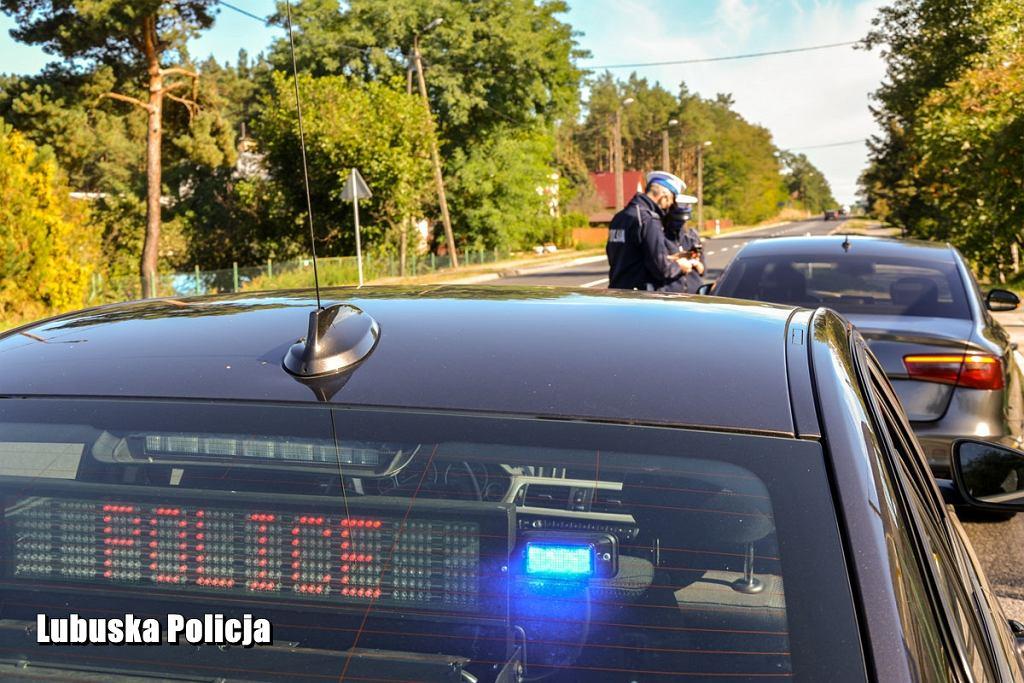 Policja, kontrola prędkości