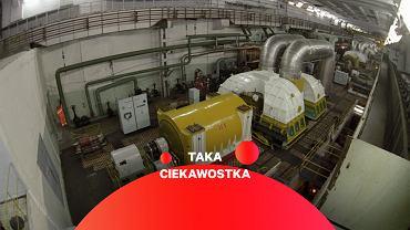 Jedna z podziemnych hal w GHK zawierająca elementy systemów chłodzenia reaktorów