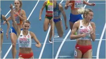 Justyna Święty-Ersetić pobiła rekord Polski podczas półfinału biegu na 400 metrów na halowych mistrzostw Europy w Toruniu