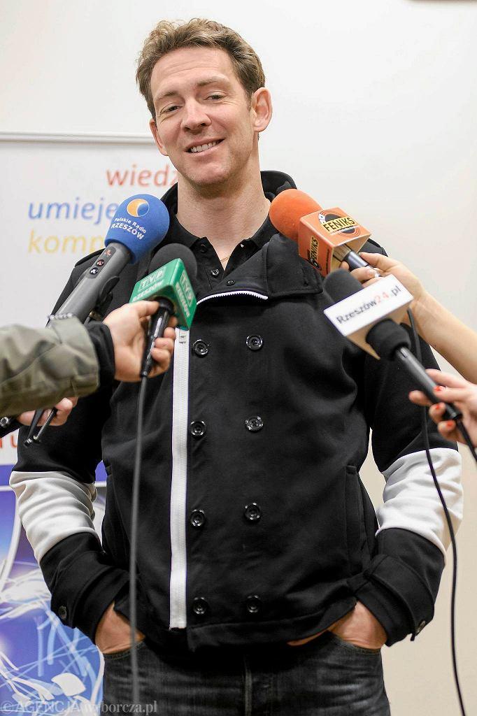 Stephane Antiga z wizytą na Uniwersytecie Rzeszowskim