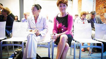 Jolanta Kwaśniewska w hotelu andels'. VI Zjazd Polskiego Towarzystwa Onkologii i Hematologii Dziecięcej