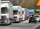 Kolejki tirów, blokady. Rosja odczuwa wojnę transportową z Polską