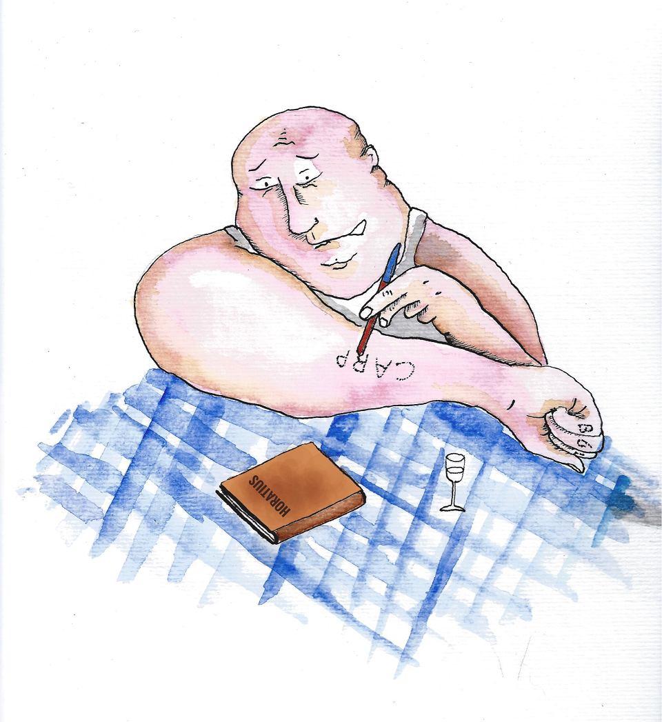 Michał Rusinek Jak Się Oryginalnie Tatuować Według