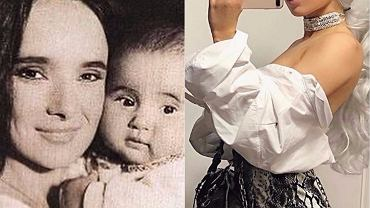 Kasia Kowalska i córka, Ola Kowalska