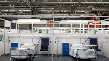 Wielka Brytania. Szpital polowy dla chorych na COVID0-19