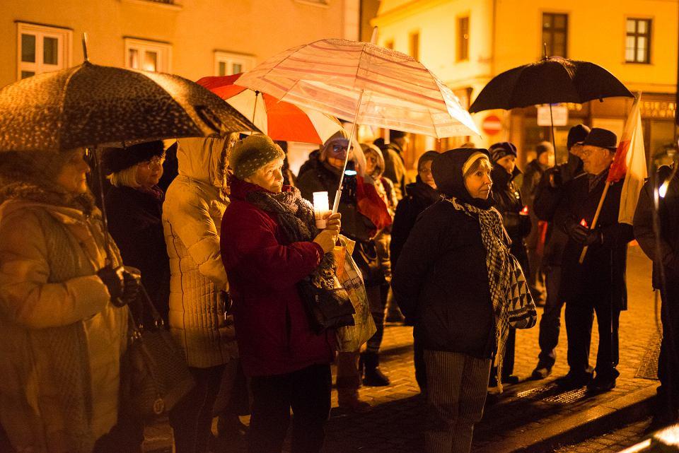 Bielszczanie protestują pod sądem
