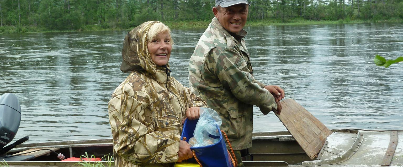 Karin i Slava na Syberii (fot. Archiwum prywatne)