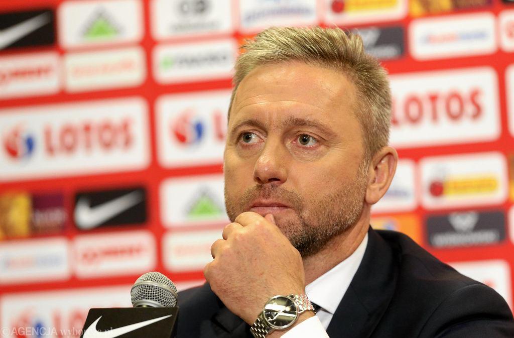 Jerzy Brzęczek w poniedziałek ogłosił kadrę na mecze z Włochami i Irlandią