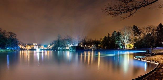 Zimowy Wieczór Światła