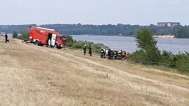 Akcja ratownicza w Płocku
