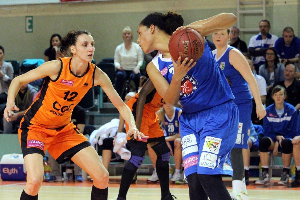 Pierwszy mecz play-off w TBLK: CCC Polkowice - KSSSE AZS PWSZ Gorzów 69:51