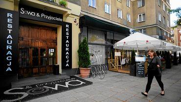Nieistniejąca już restauracja Sowa i Przyjaciele. To tu podsłuchiwano polityków PO