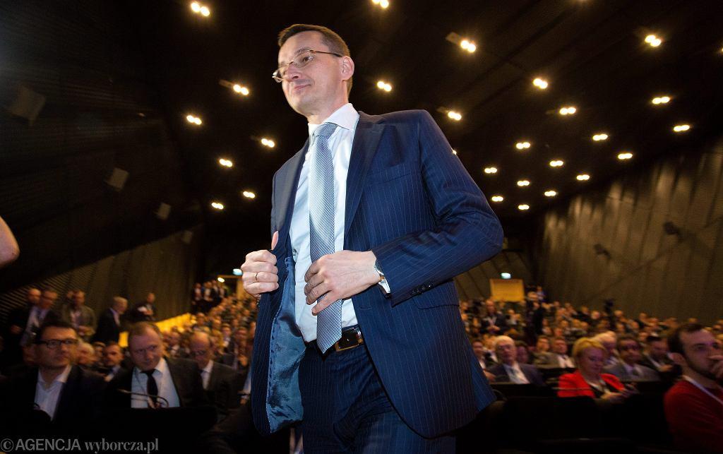 Mateusz Morawiecki podczas Europejskiego Kongresu Gospodarczego w Katowicach