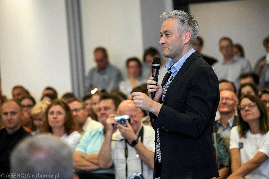 Robert Biedroń chce zostać premierem