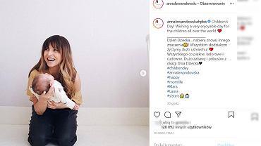Anna Lewandowska o porodzie