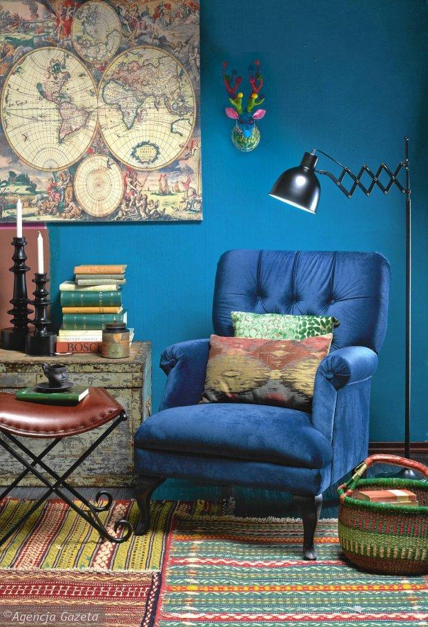 Jeden fotel w czterech różnych aranżacjach