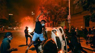 Protesty w Waszyngtonie 31 maja