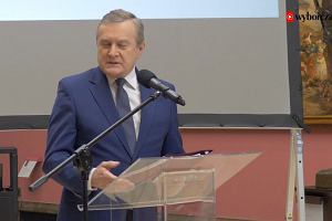 Minister Piotr Gliński o odzyskanym obrazie Maksymiliana Gierymskiego i Muzeum Książąt Czartoryskich