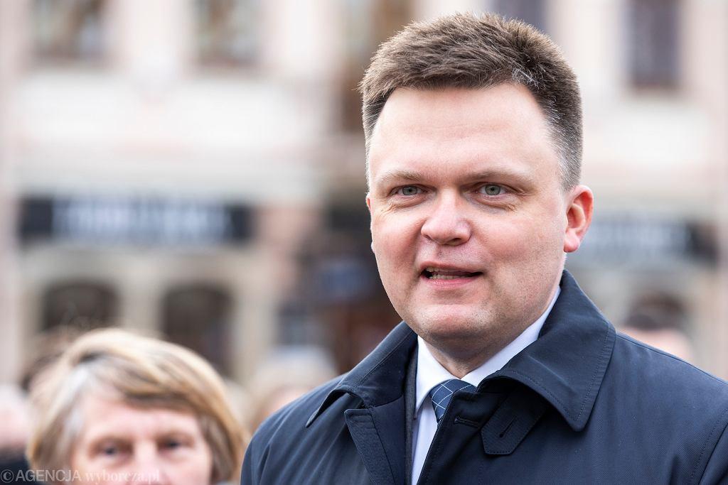 Szymon Hołownia, lider Polski 2050