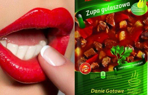 Kampania reklamowa zupy instant