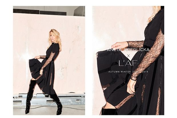 Aneta Kręglicka po raz kolejny współpracuje z marką L'AF. Zobacz kolekcję TIMELESS/Poza czasem