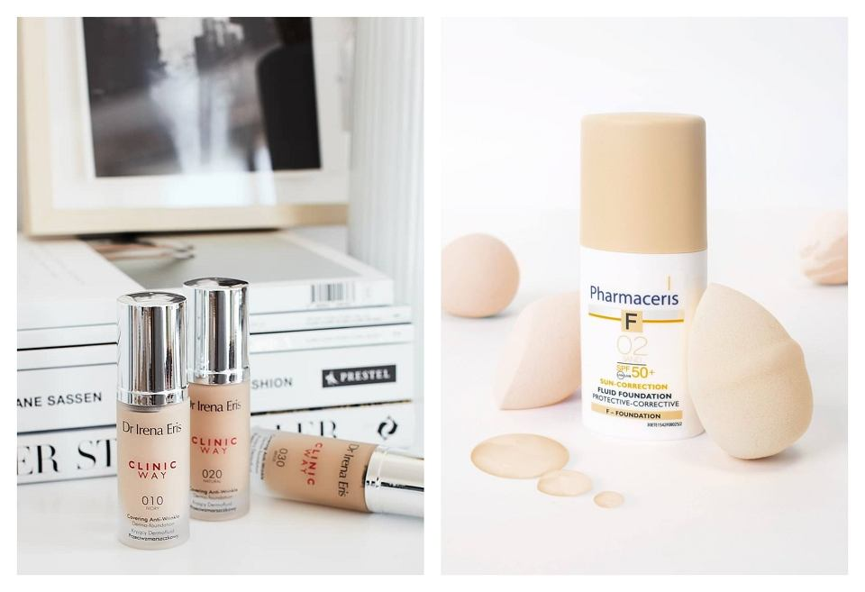 Produkty Dr Irena Eris i Pharmaceris F