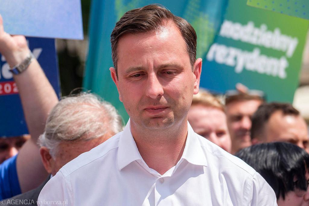 Wybory 2020. Władysław Kosiniak-Kamysz z wizytą w Rzeszowie. Spotkał się z Tadeuszem Ferencem