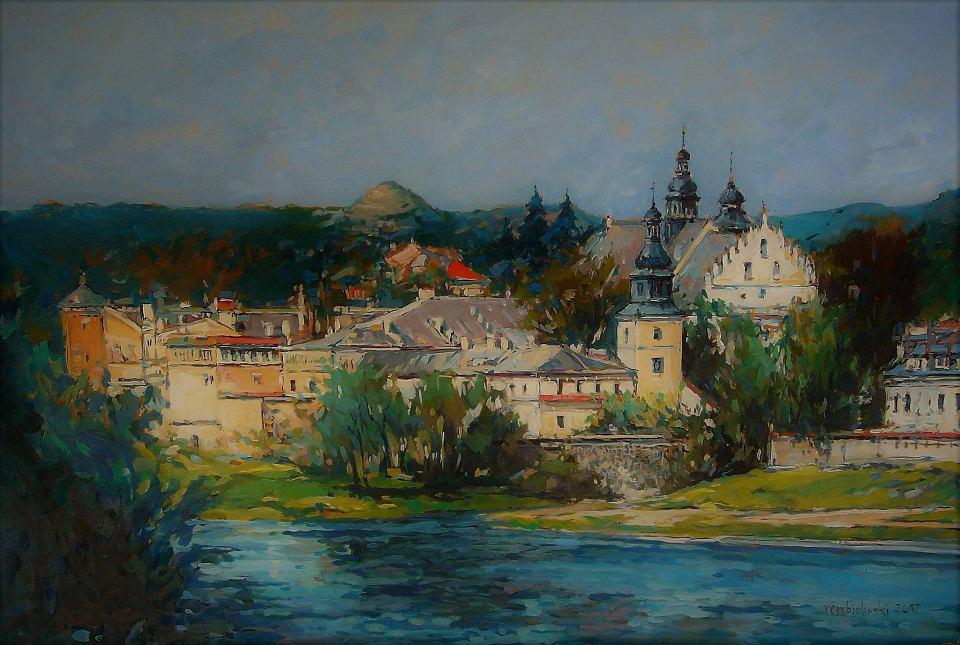 Widok na klasztor norbertanek w Krakowie. Autor: Piotr Rembieliński