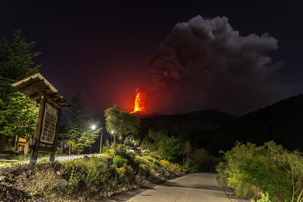 Wulkan Etna - Włochy, Sycylia
