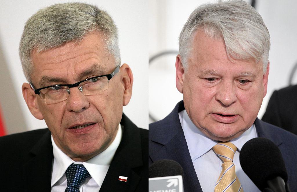 Stanisław Karczewski; Bogdan Borusewicz